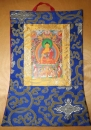 Tibetan Thangka with Foto